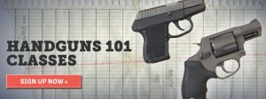 Handguns 101 @ Bullseye Shooting Range